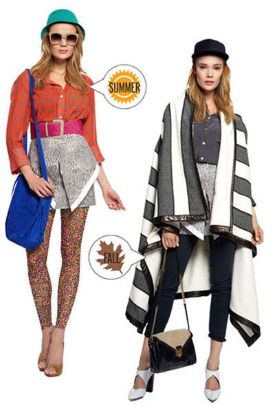 تغییر لباس تابستانی به پاییزی , مدل لباس پاییزی