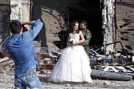 عکسهای جالب,عکسهای جذاب,عروس و داماد
