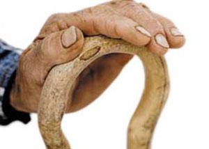 پا درد, استفاده از عصا ,عصای C, آرتروز