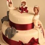 کیک های عروسی فانتزی