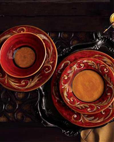 چینی چک,ظروف ویترین