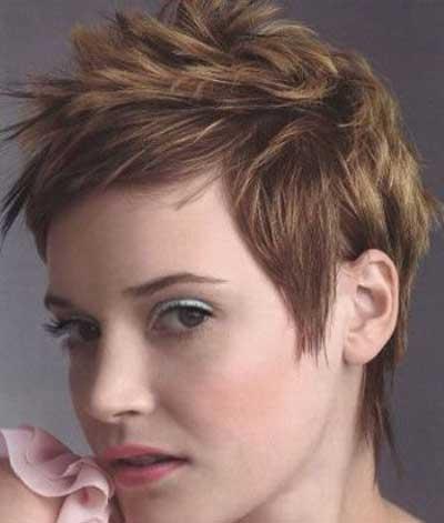 مدل مو , مو کوتاهی