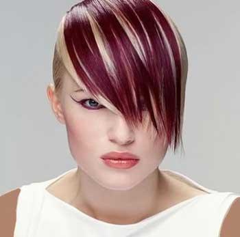هایلایت مو ,انواع رنگ مو